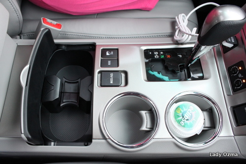 Center Console in Front