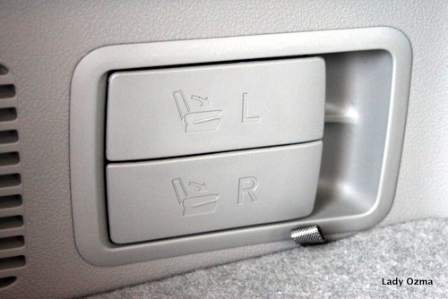 seat levers