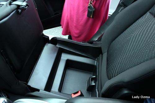 Front Passenger Seat Hidey-hole