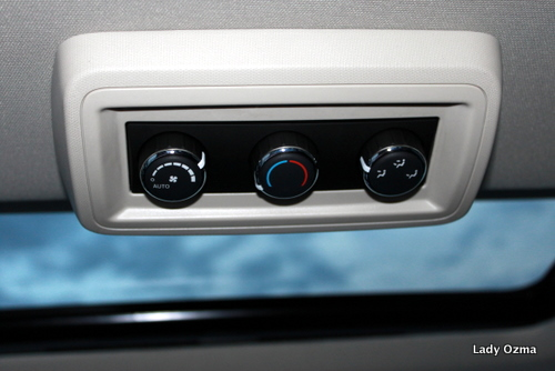 Rear Climate Controls and Moonroof