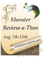 The Book Monsters Review-A-Thon Button