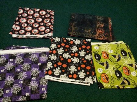 Just a few of my fun Halloween fabrics
