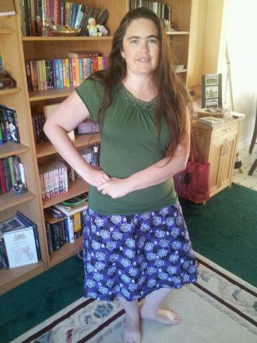 Spiderweb skirt