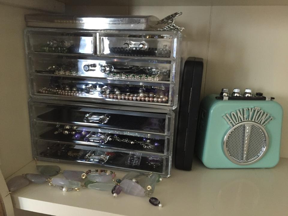 my jewelry organization